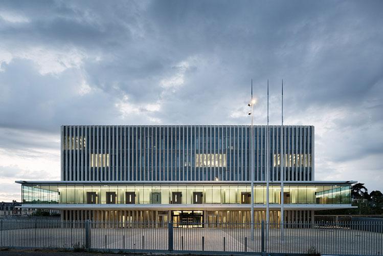 champenois architectes caen palais de justice champenois architectes. Black Bedroom Furniture Sets. Home Design Ideas