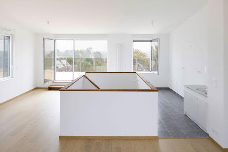 champenois architectes chantepie 87 logements bioclimatiques champenois architectes. Black Bedroom Furniture Sets. Home Design Ideas